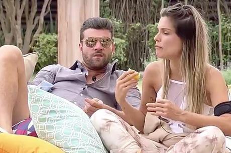 Flavia e Marcelo: casal pensa em morar junto