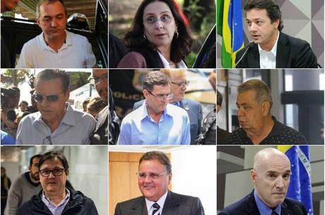 Políticos e empresários estão entre os presos em 2017