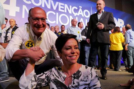 Alckmin falou sobre a pretensão de Arthur Virgílio
