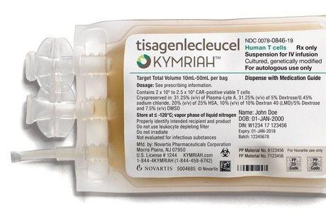 Kymriah é droga que usa tecnologia da imunoterapia