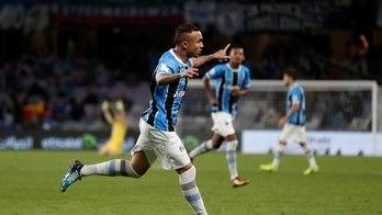 __Grêmio supera Pachuca e espera Real Madrid na final do torneio__ (Matthew Childs/Reuters - 12.12.2017)