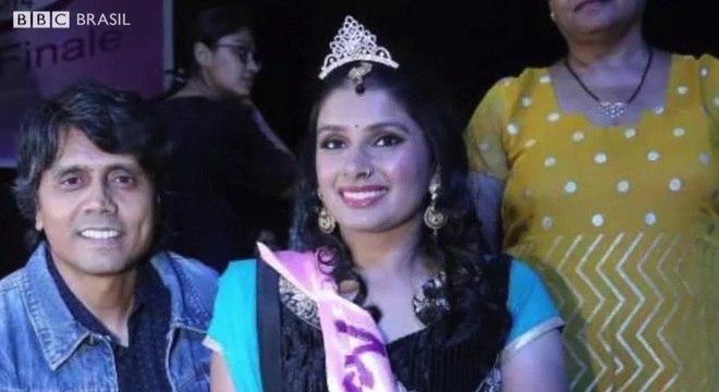 Virali foi coroada a 1ª vice-campeã do Miss Cadeira de Rodas da Índia em 2014
