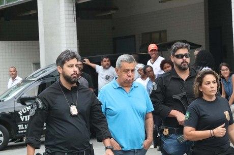 Deputado Jorge Picciani foi preso no Rio de Janeiro