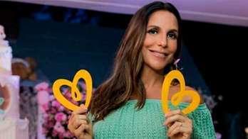Grávida de gêmeas, Ivete Sangalo faz chá de fraldas solidário (Reprodução)