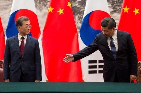 Xi se pronunciou durante visita do presidente sul-coreano
