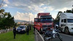 Polícia prende suspeito  de roubar caminhãodo cantor Gusttavo Lima ()