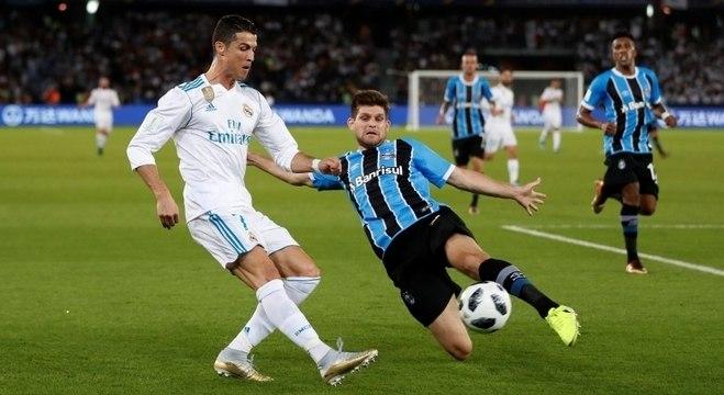 Real Madrid e Grêmio, líder e vice-líder do ranking, jogam pelo Mundial de clubes