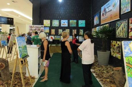 Exposição reúne quadros feitos por detentos do MA