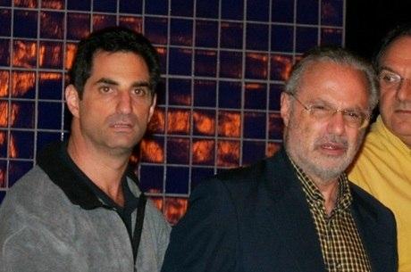 Flavio e Paulo Maluf deixam a sede da PF em São Paulo