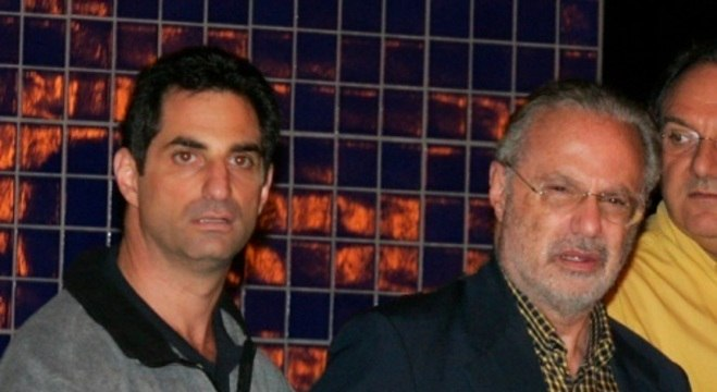 Ex-prefeito de SP, Paulo Maluf, e seu filho Flávio Maluf