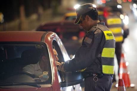 Em dois dias, 21 motoristas foram presos por embriaguez