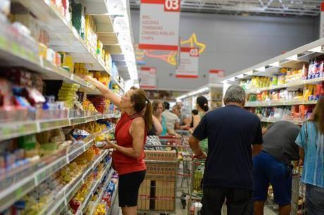 Alimentos estão mais baratos em 2017
