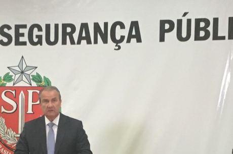 Secretário Mágino Alves divulgou estatísticas criminais