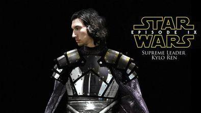 Star Wars – Episódio 9   Arte fã traz Kylo Ren com novo visual eba23f42c1
