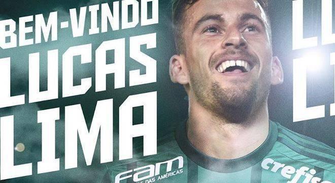 Lucas Lima, Palmeiras, Santos,
