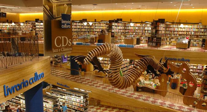 A rede de livrarias mantém hoje seis lojas em funcionamento