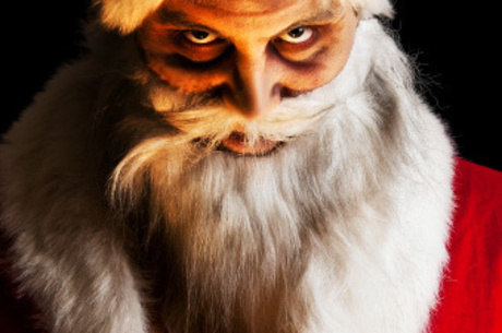 O Papai Noel assustador