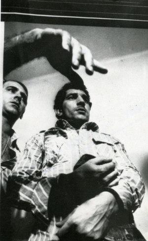 """O assasino conhecido como """"Chico Picadinho"""" ao lado do delegado de Magé"""