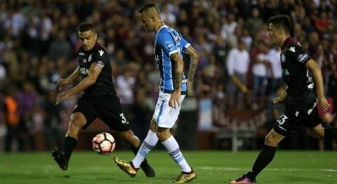 Luan foi um dos destaques da campanha vitoriosa do Grêmio na Libertadores