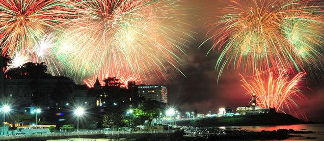 No Festival Virada Salvador, na Boca do Rio, o céu da capital será iluminado por 15 minutos seguidos