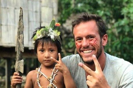 Jonatan Diniz promovia obras de caridade na Venezuela