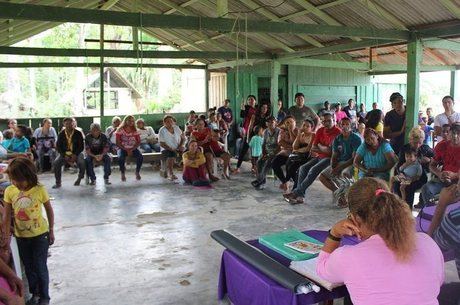A comunidade Mangabal recebeu ajuda dos índios para garantir a posse de suas terras