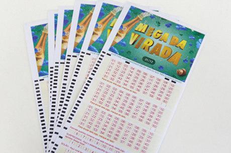 Prêmio da Mega da Virada é o maior da loteria no Brasil