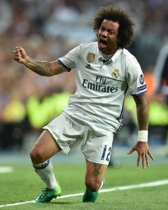 2017/2018 - Real Madrid 3x1 Liverpool - brasileiros que atuaram:  Casemiro e Marcelo (Real Madrid); Firmino (Liverpool)