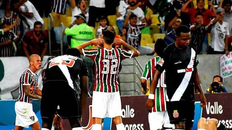 2018 - 4º - Neste ano, o Fluminense nem se classificou para a fase final da Taça Guanabara, ficando em terceiro no grupo. Depois, avançou em primeiro na Taça Rio e bateu o Botafogo na final. Na decisão do Estadual, porém, eliminação para o Vasco na semi.