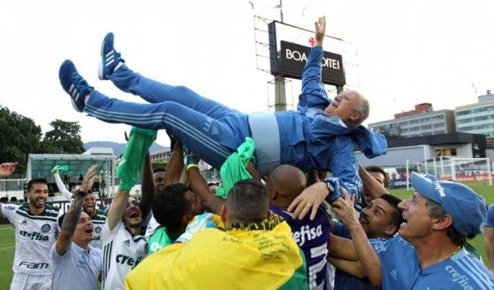 2018: DIFERENÇA: TRÊS PONTOS. 1º: Palmeiras – 59 pontos – 17 vitórias, oito empates, quatro derrotas/ 2º: Internacional – 56 pontos – 16 vitórias, oito empates, cinco derrotas.