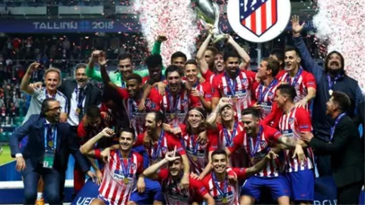 2018 - O Atlético de Madrid surpreendeu o Real Madrid e deu um show nos merengues, ganhando por 4 a 2.
