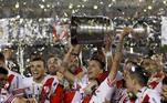 2018: River Plate (campeão) x Boca Juniors