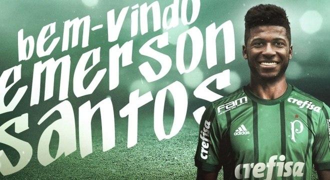 Colm pré-contrato assinado no ano passado, Emerson Santos teve o nome oficializado