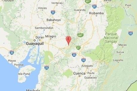 Província de Guayas registrou tremores