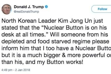 Declaração foi feita no Twitter