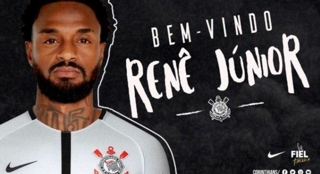 Renê Junior é o segundo reforço corintiano para a temporada de 2018