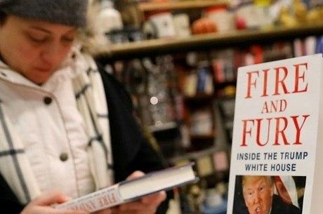 Livro de Michael Wolff foi lançado em janeiro de 2018