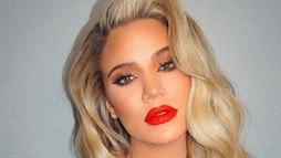 Khloé Kardashian revela por que seu cabelo está cada vez mais cacheado ()