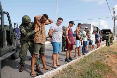 Governo enviou homens do Exército ao RN