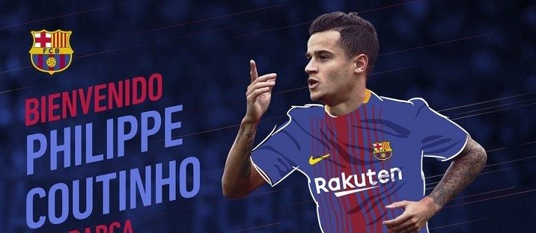 Coutinho será 39º brasileiro a vestir camisa do Barcelona na ... 1398386117647