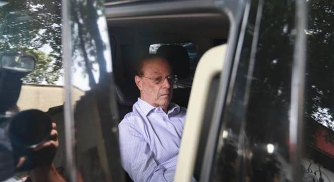 Paulo Maluf, que está preso em regime domiciliar