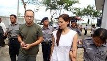 Jornalistas de Mianmar mostram preocupação por prisão de colegas