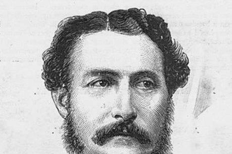Edward Sladen, o principal suspeito de ter levado o precioso rubi
