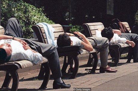 Trabalho excessivo é comum no Japão