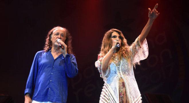 Elba Ramalho e Alceu Valença vão se apresentar juntos no Ibirapuera