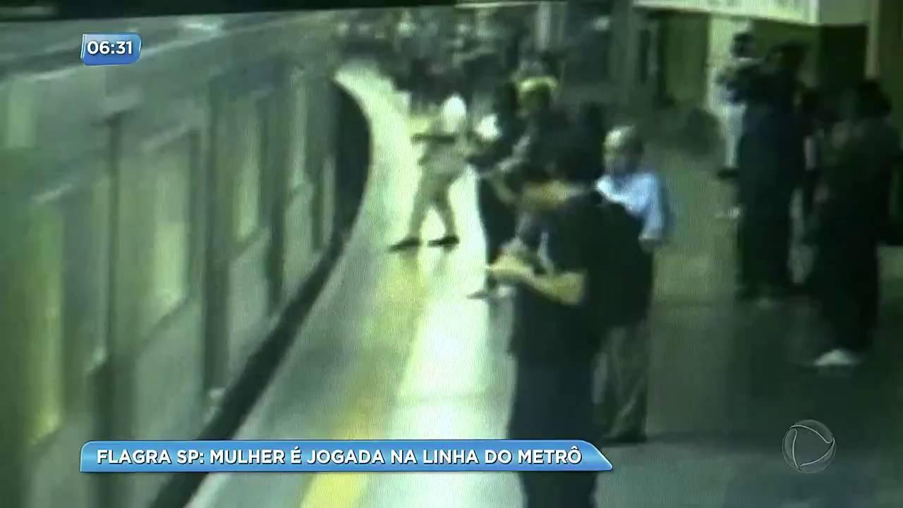 Homem joga mulher no metrô e justifica: 'Ordens do diabo'