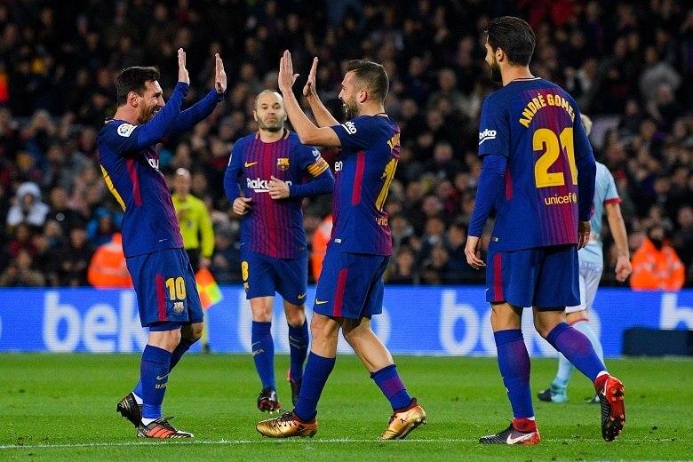 Barcelona-Celta de Vigo: 'Quartos' em disputa