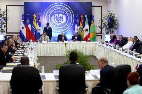 Negociação foi retomada nesta semana, em Santo Domingo