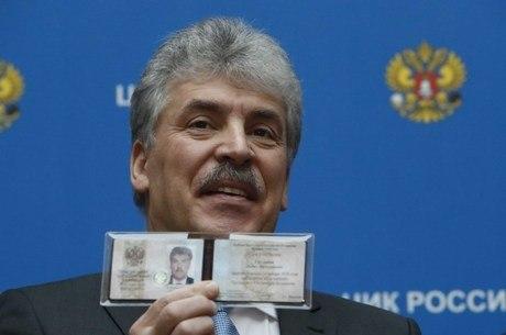 Pavel Grudinin disputará a eleição pelo Partido Comunista russo