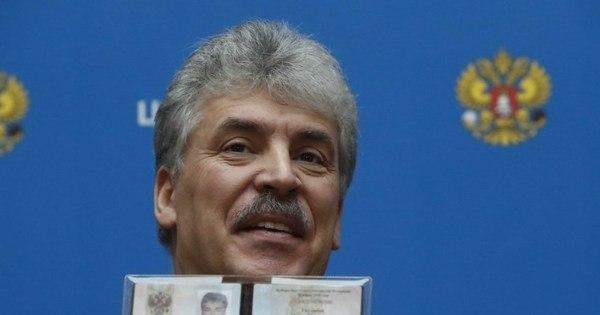Comunistas russos escolhem candidato-surpresa para eleição
